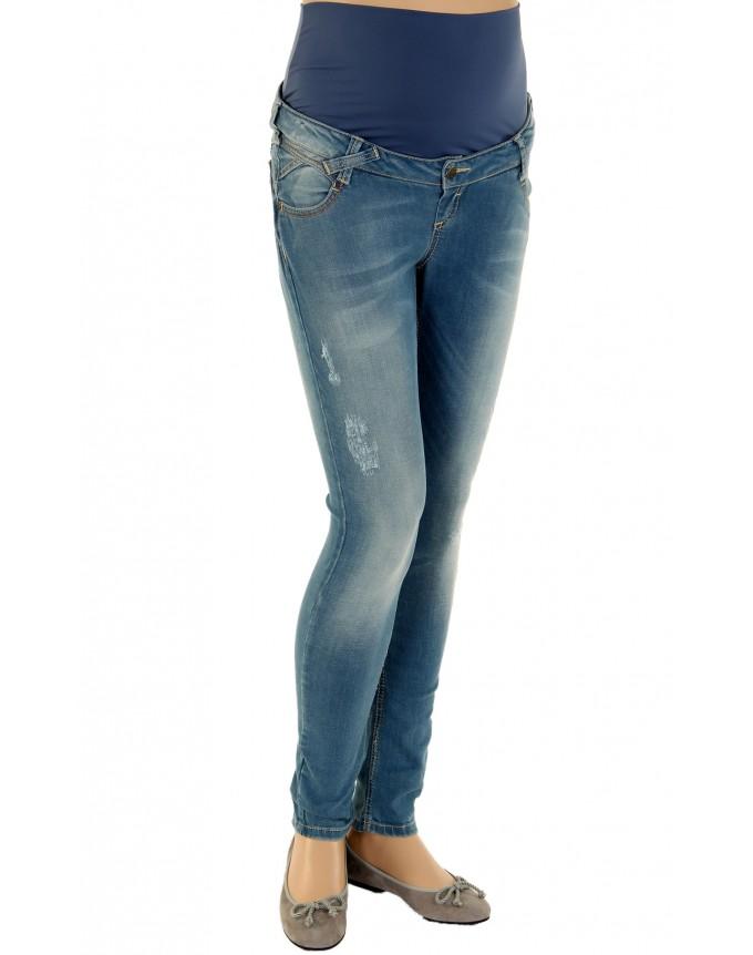 Christoff Designer Jeans Wien mit geradem Cut 5-Pocket Jeans