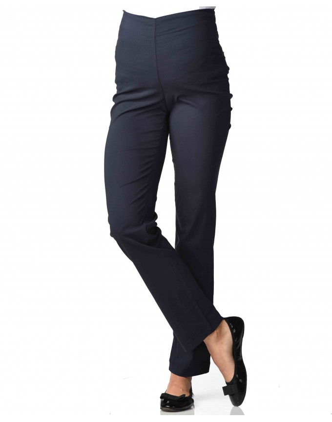 Umstandsmode Christoff / Boot-Cut raffiniert elegante Stretchhose extra extralang