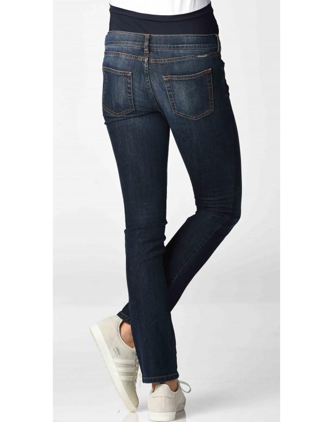 Umstandsmode Christoff - Designer-Jeans mit coolen Wrinkle-Effekten in 2 Beinlängen