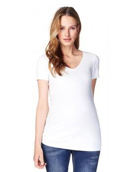 Noppies-Umstandsmode Basic-Shirt mit femininen Ausschnitt 60104