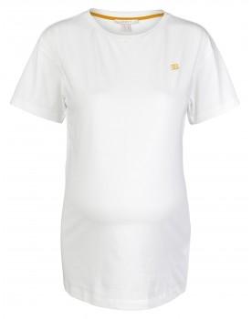 Esprit Umstandsshirt T-shirt Basic aus Bio-Baumwolle 20870021