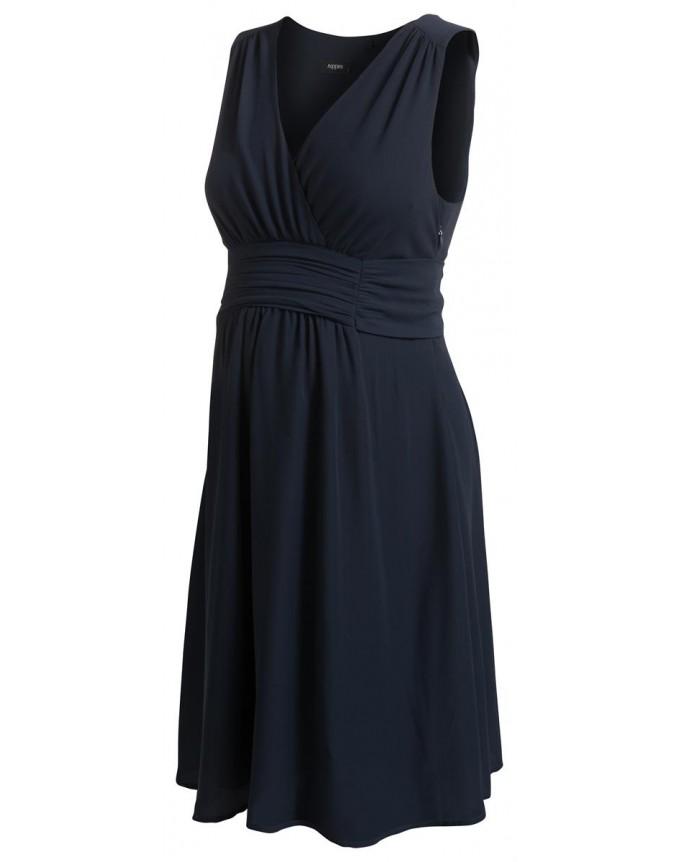 Umstandsmode noppies Dress -Liane- in Tunika-Optik schwarz, creme & navy