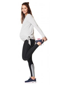 Noppies Damen-Sportleggings mit Bauchband Activewear-Kollektion Quick-Dry-Beschichtung 50541
