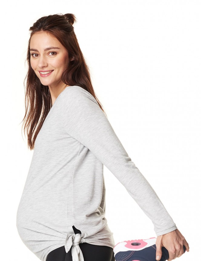 Damen-Langarm- Sportshirt ActiveWear Langarmshirt mit einem der BH-Tops 66505