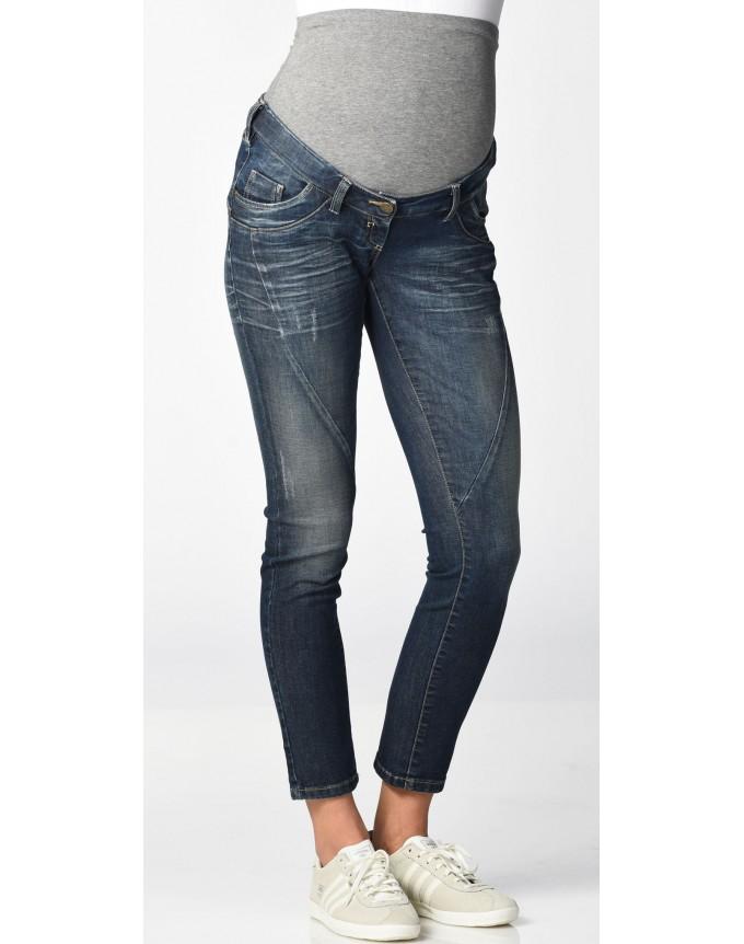 CHRISTOFF Jeans Damen Umstandshose / Denimjeans / Designerjeans