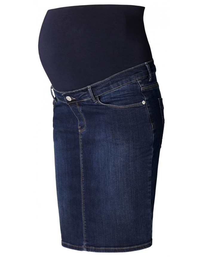 Esprit Maternity Umstandsrock Jeans mit faded Waschung