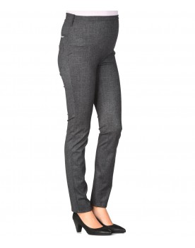 Christoff Hose Umstandsmode Damen Must-have Hose Straight Fit mit Überbauchbund