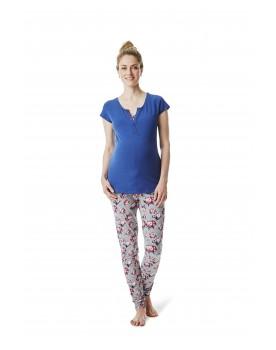 Esprit Maternity Pyjama Pyjamahose, Schlafanzughose Jogginghose N1884110