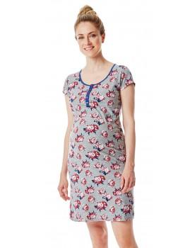 Still-Nachtkleid bequemes Nachthemd nächtliche Stillen erleichtert N1884270