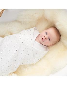Noppies Moltontuch Narcao 120x120 cm Geschenk Babydecke