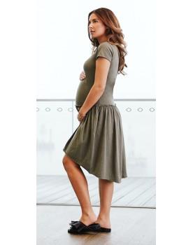 Supermom Kleid Swing T-Shirt-Kleid Farbe: Army (C190)