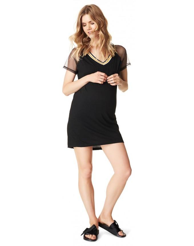 Supermom T-shirt Mesh Sportswear kurze Kleid S0731
