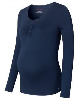 Esprit Still-Shirt Longsleeve aus Bio-Baumwolle