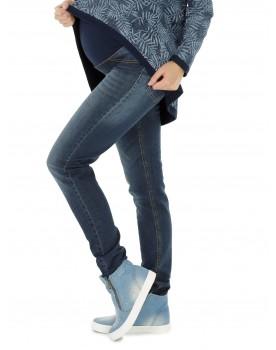 Schwangerschaftshose ❤️ Jeans Umstandshose Damen Hose Straight ❤️ (32L & 34L) 6000-89
