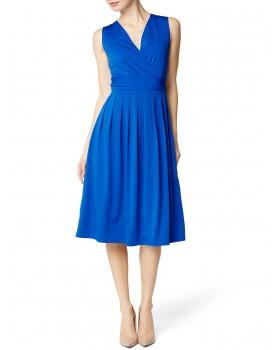 Nitis Damen Kleid Raffiniertes Bequemes Rückenfrei Umstandskleid für Schwangere Dress Maternity NI-KJ-17