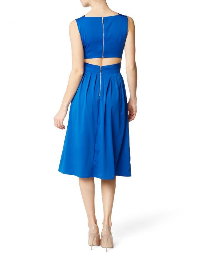Damen Kleid Raffiniertes Bequemes Rückenfrei Umstandskleid für Schwangere Dress Maternity