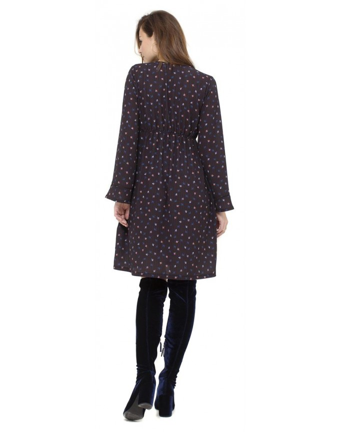 Umstandskleid in Midi-Länge von Queen Mum Nursing Dress 3/4