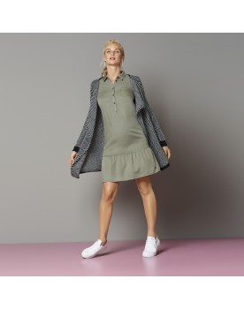 Esprit Damen Kleid Hemdkleid Umstandskleid