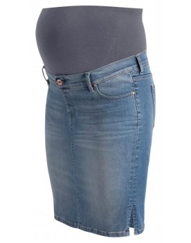 noppies Damen Rock Umstandsrock Jeans