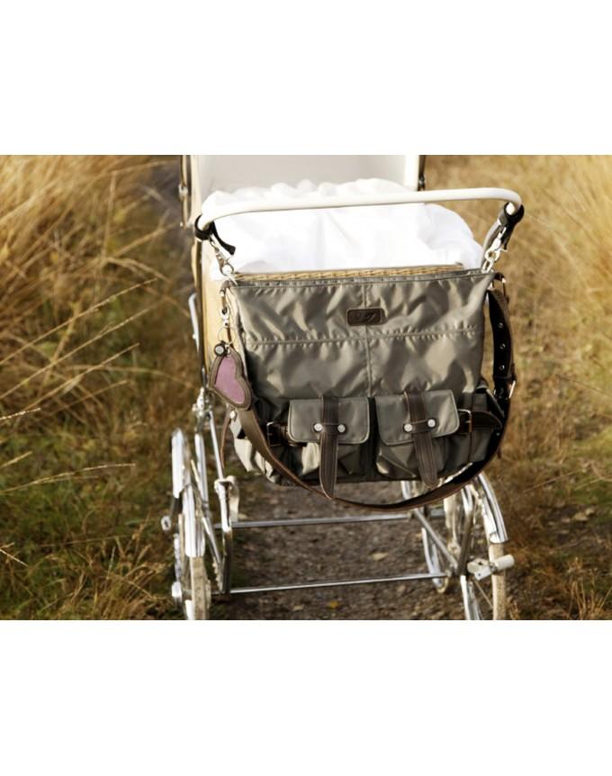 Petit Amour Baby Wickeltasche LYNN PA-B-0115W Tabak