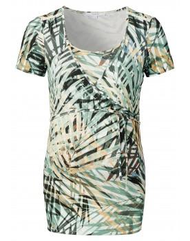 Still t-shirt Exton - schönes Oberteil mit Wickelausschnitt