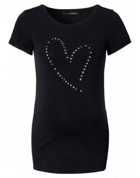 T-shirt Text Heart - Schönes lässiges Shirt von Supermom mit herzförmigem Aufdruck.