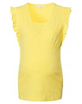 Still t-shirt Edinburg - Dieses gelbe Noppies Wickeloberteil bringt Ihre schwangere Figur wunderbar zur Geltung