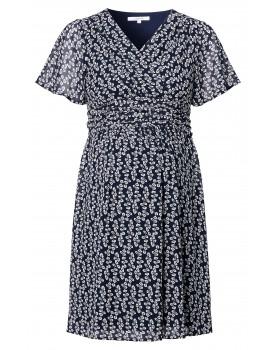 Kleid Flora - Kleid mit Blätterprint