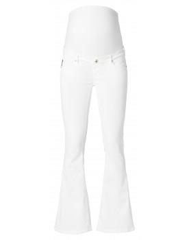 Flared Umstandsjeans Flared White Damen Jeans