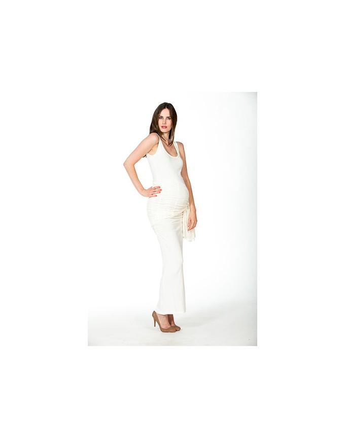 Kleid Auril elegant Bezaubernd Umstands-Brautkleid bodenlanges Hochzeitskleid