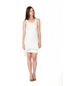 Love2wait Kleid Viola Bezauberndes Umstands-Brautkleid Hochzeitskleid C141036