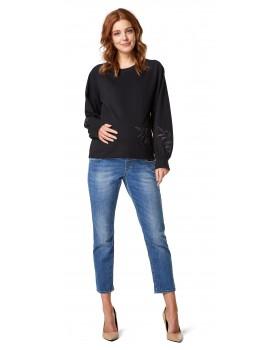 Pullover Sweatshirt mit trendigem Touch
