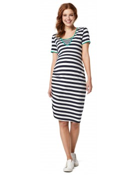 Nursing Dress Umstandskleid Still-Kleid Dress Nursing