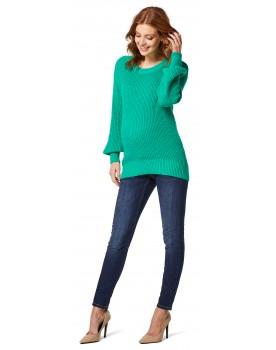 Pullover Umstandsmodell mit Rundhalsausschnitt