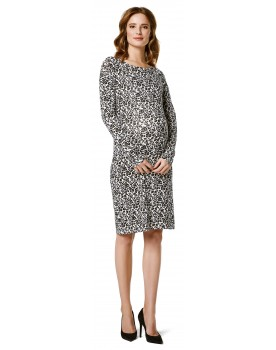 Umstandskleid Dress Nursing Kleid Leopard AOP