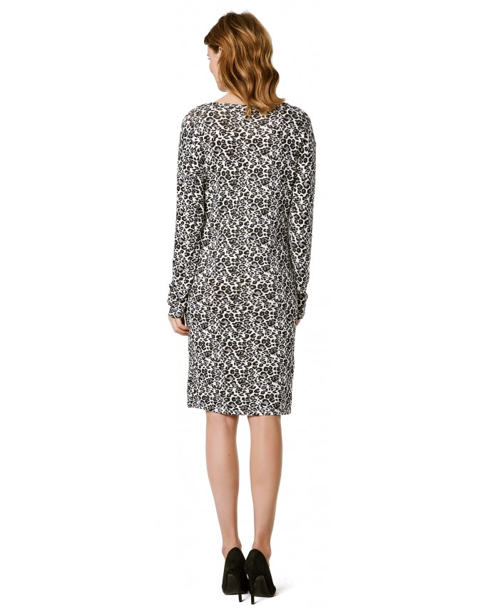 Kleid Leopard AOP