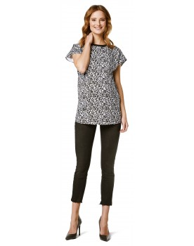 T-shirt Leopard AOP