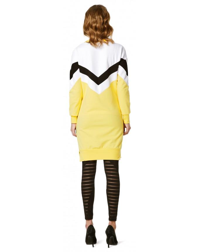 Kleid Colourblock