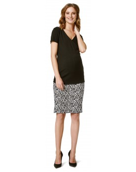 Supermom Umstandsrock Leopard Rock S0924