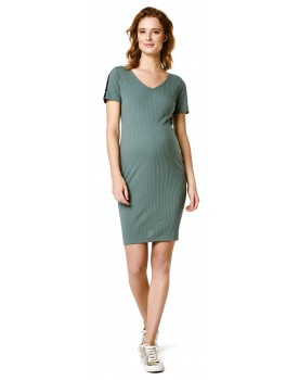 Umstandskleid Dress Kleid Balsem Green