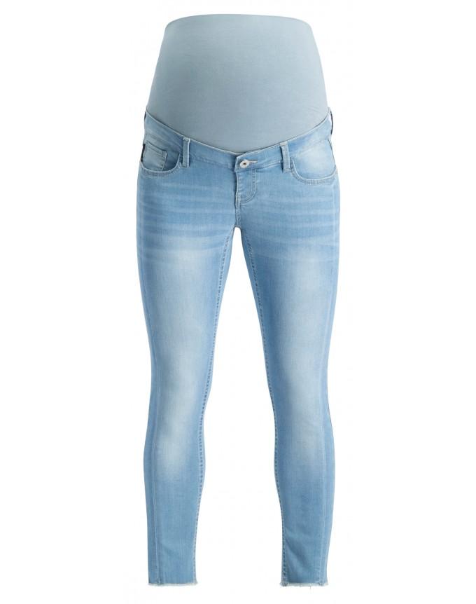 7/8 Umstandsjeans Skinny 7/8 Light Blu