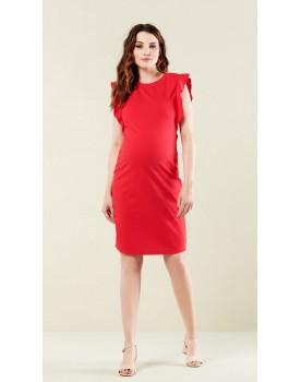 Noppies Umstandsmode Damen Dress Umstandskleid Tunika Kleid Olympia 90231