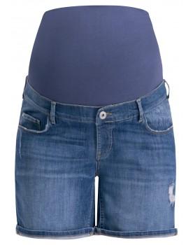 Umstandsmode Noppies Damen Shorts Bermudas Umstandsshorts Jeans Pasha 90303