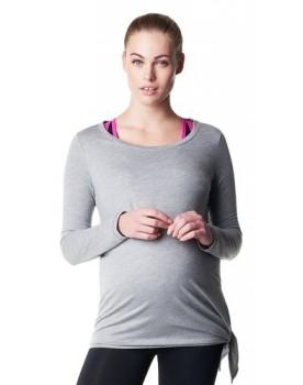Noppies Damen-Langarm- Sportshirt ActiveWear Langarmshirt mit einem der BH-Tops 66505