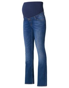 Esprit Flared-Leg Umstandsjeans im 5-Pocket-Stil. Stone-Washed-Jeans U8C010