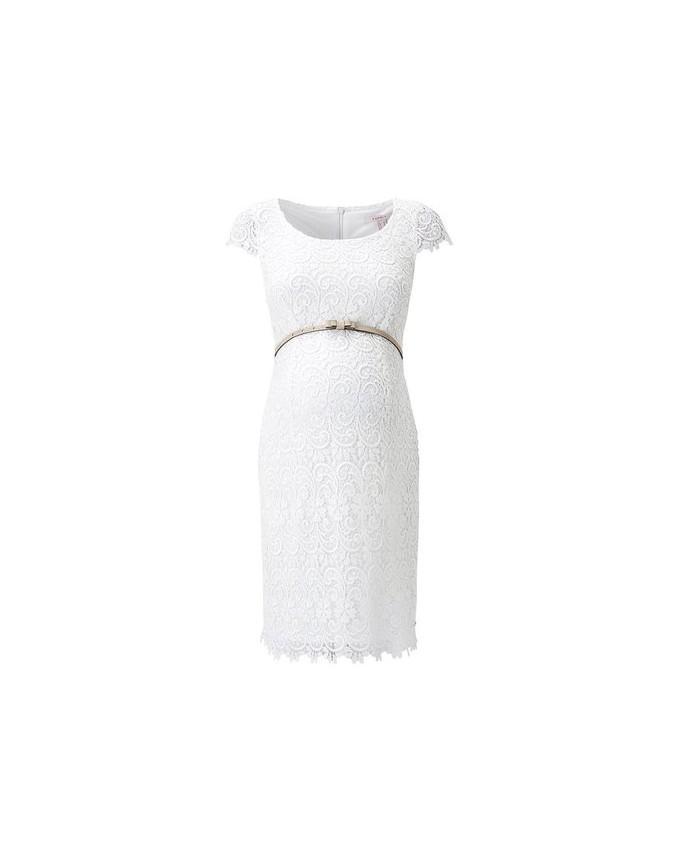 ESPRIT Maternity Damen Umstandskleid Dress Knielang, Brautkleid Hochzeit C1884260