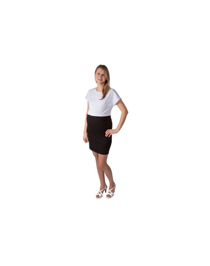 Etuikleid Black & White Two / Dress Umstandskleid