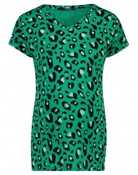 T-shirt Emerald AOP