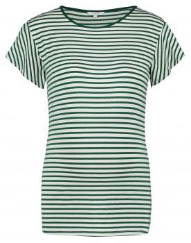 Noppie Metallic Details T-shirt Olivia Streifenmuster 90515