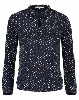 Noppies Langarmshirt River zeitlose Eleganz All-Over Punktdruck 90517